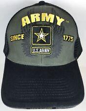 U.S. ARMY Hat Military VETERAN ARMY STRONG Licensed Baseball Cap