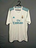 Real Madrid Jersey 2017 2018 Home XL Shirt Adidas Football Soccer AZ8059 ig93