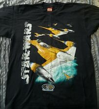Star Wars Episode I The Phantom Menace Naboo Starfighter T-Shirt Size L