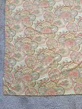 WAVERLY Paddock Shawl TWIN Fitted Sheet And Flat Sheet Paisley