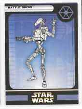 2004 Star Wars Miniatures Battle Droid B Stat Card Only Swm Mini