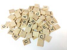Scrabble Original Wooden Tiles Letters Replacement Craft Scrapbooking DIY