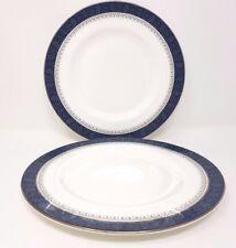 "Royal Doulton Sherbrooke - 2 x Salad/Dessert Plate. 8""."