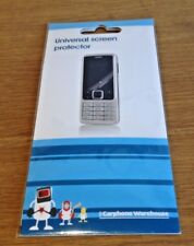 Samsung Galaxy Sii 2 clara pantalla Protector Wet & Dry limpie por Carphone Warehouse