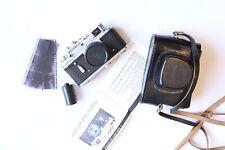 Zorki 4K HQ russian USSR Leica RF TOP!camera black Jupiter 8  50 mm 1:2.0
