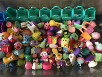 Shopkins Random Surprise Lot of 15 & 2 Bags- No Duplicates - All Seasons!