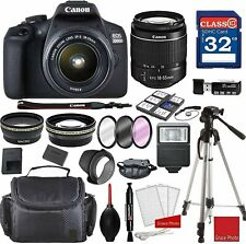 Canon EOS 2000D Rebel T7 Kit with EF-S 18-55mm f/3.5-5.6 III Lens +...