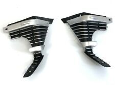 1969 Chevelle El Camino Front L & R Outer Grille Grill Extensions - Pair (LH+RH)