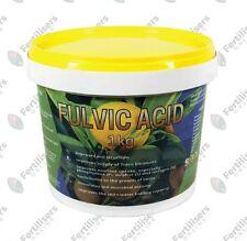 Fulvic Acid Fertiliser 1kg SREDA Fulvate Fertilizer Potassium Iron