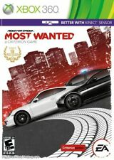 Need for Speed : Most Wanted (Microsoft Xbox 360, 2005) Brand New - US Version
