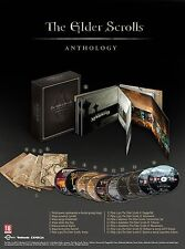 THE ELDER SCROLLS ANTHOLOGY Arena Morrowind Oblivion Skyrim PC BOX NEW STEAM