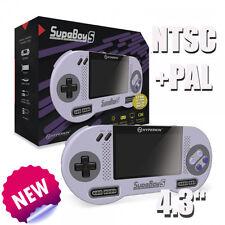 Retro SupaBoy S Portable Super Nintendo Konsole + PAL + NTSC+ Akku+ NEUWARE