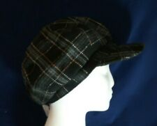 Ladies smart flat cap hat Peaky Blinders country Gatsby black, fashion NEW