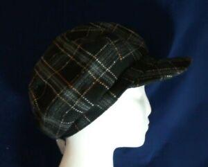 Ladies smart flat cap hat Peaky Blinders country Gatsby black, fashion NEW
