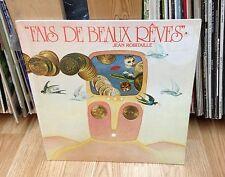 """JEAN ROBITAILLE LP """" Fais De Beaux Rêves '79 """" * PROG. / PSYCHEDELIC ROCK SEALED"""