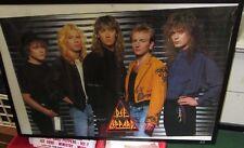 DEF LEPPARD POSTER DEATH ORIGINAL NEW S 1988 HEAVY METAL