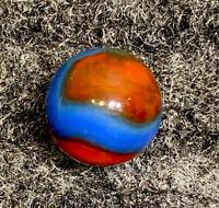 """Vintage Marbles: Peltier Superboy w/ Blazing Colors - Mint - 5/8"""""""