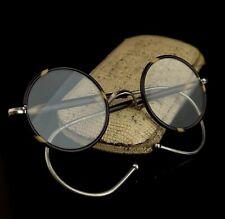Vintage round framed glasses, 1920s Art Deco, faux tortoiseshell