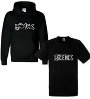 New Kids Boys Girls Roblox Gaming Xbox Gamer Hoodies T Shirt Hoody Gift Winter