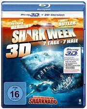 Shark Week (3D Vers.) (Blu-ray) (FSK 16) Yancy Butler, Patrick Bergin, Ray NEW