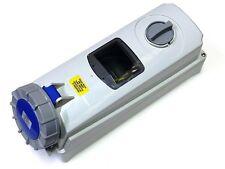 63A Interruttore Presa di interblocco 3 pin con DIN SBARRA 2P+E IP67 200 -