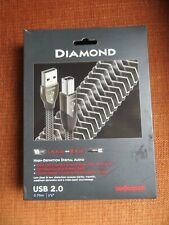 Audioquest Diamond USB Type A to Type B Audiophile Cable - 0.75m
