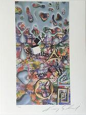 "Kenny Scharf, HAND SIGNED, Art Print, ""News Now"""""