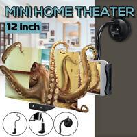 12'' 3D HD Bureau Lit Support Amplificateur de Loupe d'écran Téléphone