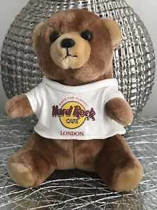 HARD ROCK CAFÉ LONDON CLASSIC TEDDY BEAR PLUSH SAVE THE PLANET