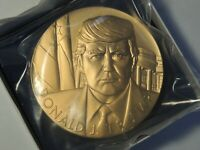 Donald J Trump bronze medal 3 inch U. S. Mint 20MC OGP Still sealed in packaging