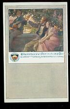 1910 Bavarian Postcard Song Lyrics Luther's Wahrspruch by L. Waldmann B2129