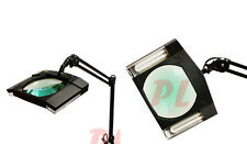 5 Diopter FACIAL Magnifier Magnifying Lamp Light 5X Table Clamp NO STAND- BLACK