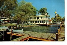 Showboat Motel-Seneca Lake-Himrod-New York-Vintage 1964 Advertising Postcard