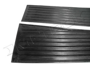 Buick Series 40 Running Board Rubber Mat Set 1934-1935 Authentic Repro