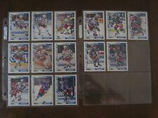 1991 - 92  NEW YORK RANGERS - HOCKEY TRADING CARDS - 14 CARD LOT - SCORE '92