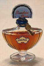 Vintage Sealed Guerlain Paris SHALIMAR Parfum Extrait Baccarat Bottle 1/2 fl oz