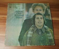 "12"" LP VINILE Simon and Garfunkel -- Bridge over Troubled Water CBS s63699"