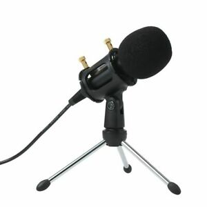 Microphone Condenser Play Home Studio Podcast Vocal Recording For Iphone Laptops