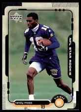 1998 Upper Deck Randy Moss RC Vikings #17