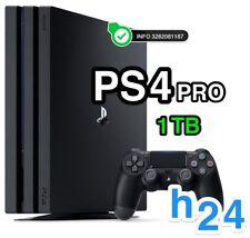 SONY PLAYSTATION 4 PRO PS4 Black 1tb CONSOLE PS 4 NUOVA