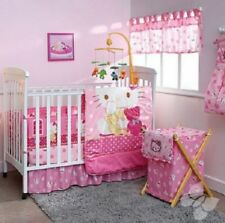 Pink Hello Kitty Caramelo 5 Piece Crib Bedding Set in 100% Microfiber