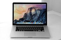 "Apple Macbook Pro 15"" Retina i7 4770HQ 2.2Ghz 16Gb Ram 256 SSD OSX Mojave 2014"