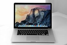 "Apple Macbook Pro 15"" Retina i7 4770HQ 2.2Ghz 16Gb Ram 256 SSD High Sierra 2014"
