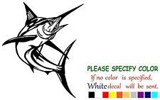 "Marlin Fish Funny Vinyl Decal Sticker Car Window laptop tablet truck netbook 10"""