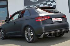 FMS Duplex Sportauspuff Audi A3 8V 3-Türer Quattro ab Bj 2012 2.0l TDI