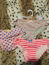 COTTON ON KIDS 3 PACK BARBIE GIRLS UNDIES BRIEFS SZ 7-8   FREE POST (F40)  Bnwt