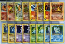 POKEMON (16) CARD LOT SET 1ST EDITION, HOLO FOIL, RARES, HOLOGRAPHIC +CHARIZARD