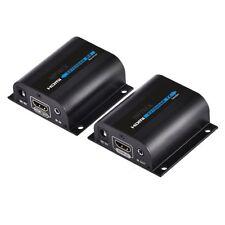 HDMI extensor vía CAT 6 Cat6a Cat7 cable Amplificador HDMI Extender hasta 60M