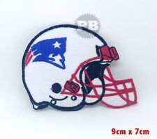 New England Patriots vintage embroidered iron on Helmet Patch NFL TEAM