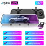 2K Video 10'' 1080P Car Rear Mirror View Camera Streaming Media Dash Cam Anytek